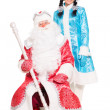 Father Frost and Snow Maiden — Stock Photo #49261935