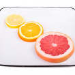 Grapefruit, orange and lemon — Stock Photo #49262689