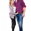 Handsome man and pretty woman — Stock Photo #49263303