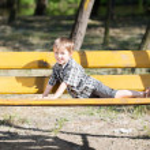 Funny little boy — Stock Photo #49263919