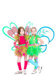 Two beautiful little girls — Stock Photo