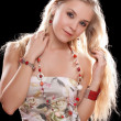 Portrait of a charming young blonde — Stock Photo #8276235