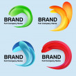 Unusual modern logo design — Stockvector #40627097