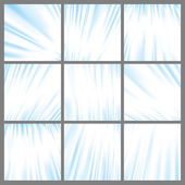 Blue abstract lines backgrounds collection — Stok Vektör