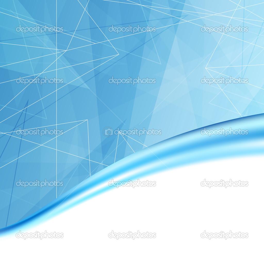 Modelo de fundo de cobertura de pasta azul moderno – Ilustração de ...