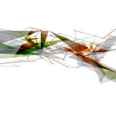 Modern art bright geometrical background — Stock Vector