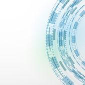 Modern technology blue background — Stock Vector