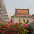 Stock Video: Thai temple