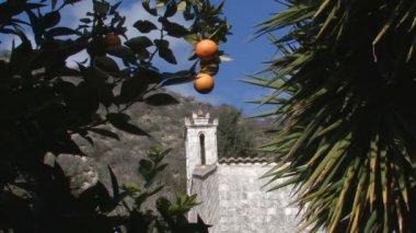 Monastery of the St. Neophyte-hermit — Stock Video