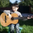 Guitar, music — Stock Video