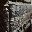 Stock Video: Prayer wheel