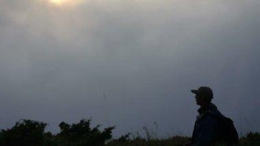 Montañeros — Vídeo de Stock
