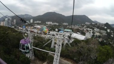 Cableway — Stock Video