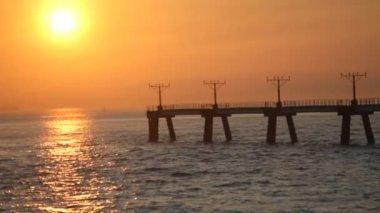 Sol, mar — Vídeo stock