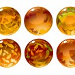 Autumn balls — Stock Photo #1163525