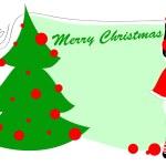 Christmas gteeeting card — Stock Vector #12042431