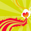 Valentine background — Vector de stock #12040447