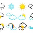 Weather Icons — Stock Vector #12040535