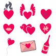 Love icons — Stock Vector #12040625