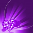 Valentine's Day background — Image vectorielle