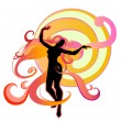 Stock Vector: Dancing