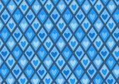 用红心图案复古 rhombs — 图库矢量图片