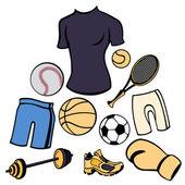 Sport life style — Cтоковый вектор