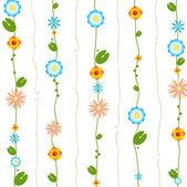 Floral ornament design — Stock Vector