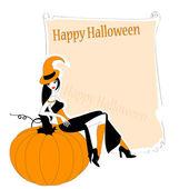 Zaproszenie do halloween — Wektor stockowy