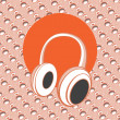 Head - phones — Imagen vectorial