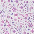 Floral Pattern background — Stock Vector