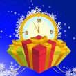 Royalty-Free Stock Imagem Vetorial: New year background