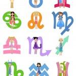 ������, ������: Astrological zodiac signs