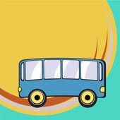 Retro autobus — Stock vektor