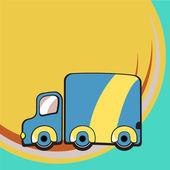 Funky truck — Vector de stock