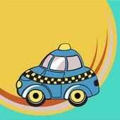 Funky taxi — Stock vektor