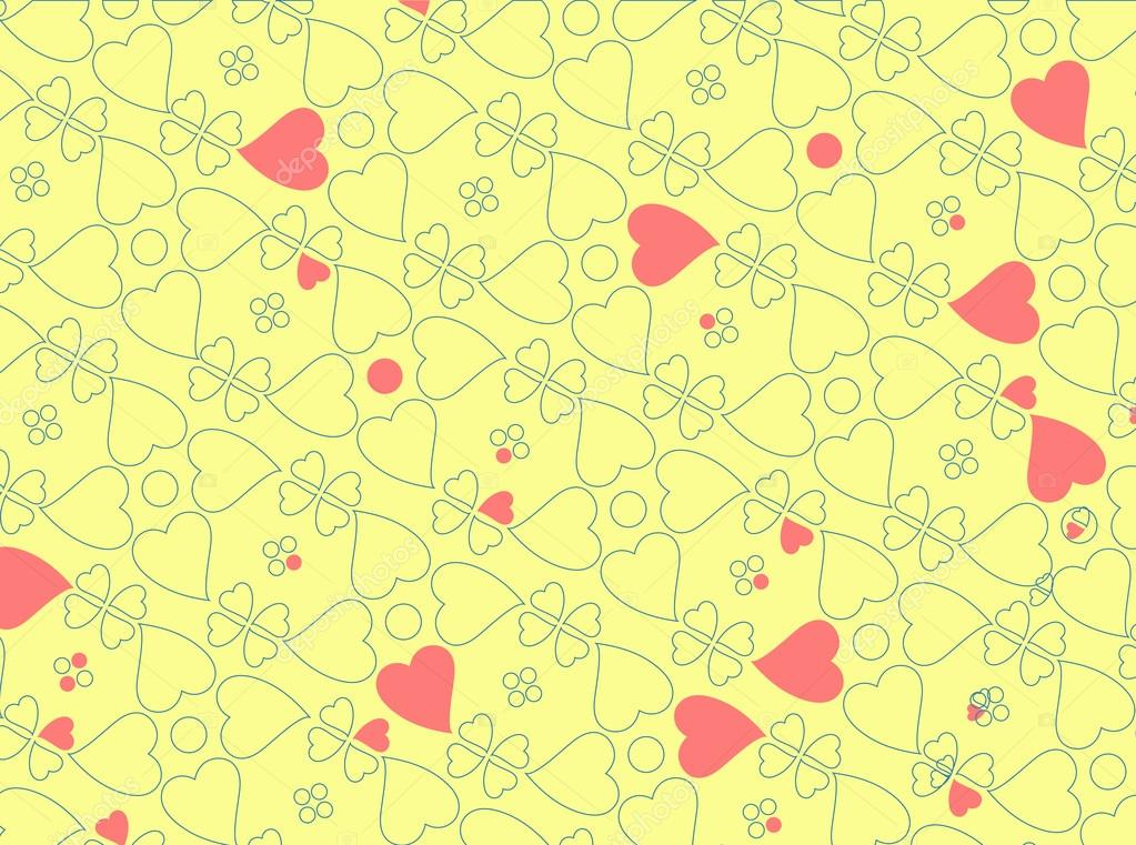Vector illustration of heart motifs for valentine day cards or anything else  Imagen vectorial #12221681