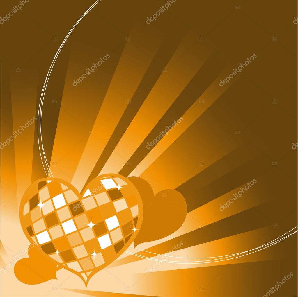 Vector illustration of Valentine's Day background, decorated with beautifull hearts. — Stock Vector #12221880
