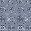 Snowflake pattern — Stockvectorbeeld