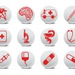 Medicine icons — Stock Vector