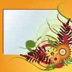 cadre floral — Vecteur #12417396