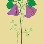 Beautiful flower — Stock Vector #12417821