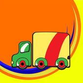时髦的卡车 — 图库矢量图片