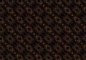 Black Swirl background — Stock Vector