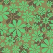 Abstract floral background — Stockvectorbeeld