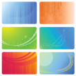 Royalty-Free Stock Vector Image: Set of abstract backgrounds