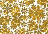 Abstraktní květinové pozadí — Stock vektor