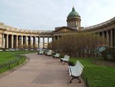 Kazan Cathedral in St. Petersburg — Stock Photo