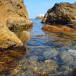 Stock Photo: Rocky shore of Black Sea