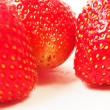Stock Photo: Red ripe strawberries
